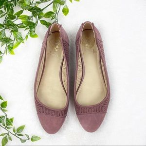 Vince Camuto | Light Purple Rounded Toe Flats